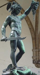 Cellini's Perseus: classic front right view 1