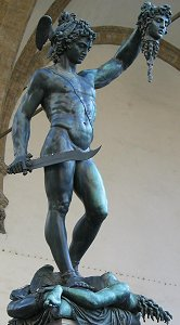 Cellini's Perseus: classic front right view 3