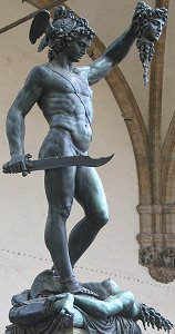 Cellini's Perseus: classic front right view 2