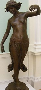 Dance by Edward Onslow Ford - lifesize bronze in Lady Lever Art Gallery, photo by mrmaclear on Flickr