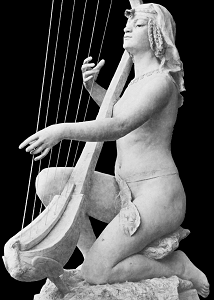 Jeanne Itasse - Egyptian Harpist (included for comparison)