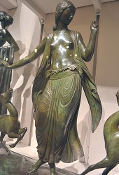 Dancer and Gazelles by Paul Manship - Met Museum statuette 1