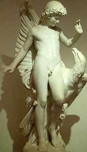 Moulin's Ganymede, marble, front 1