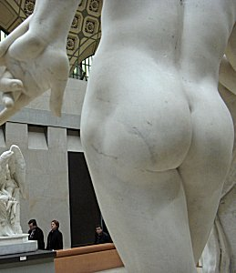 Moulin's A Secret from On High - buttocks of marble in Orsay