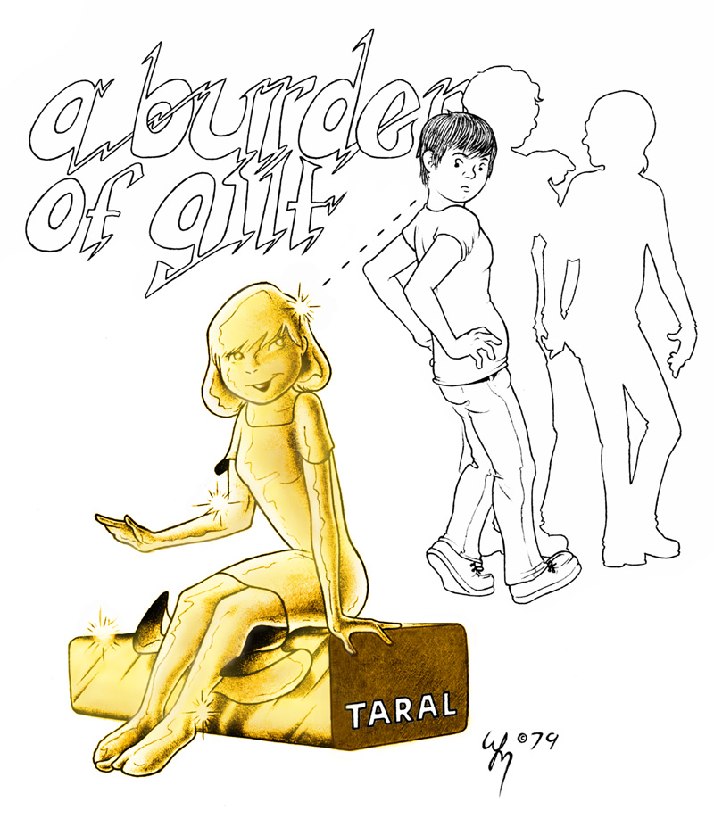 Taral Wayne - A Burden of Gilt